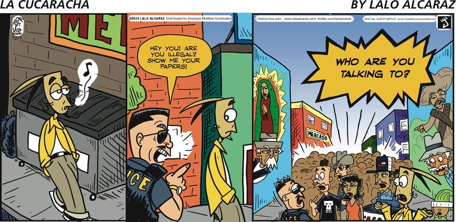 La Cucaracha Comic Strip for December 01, 2019