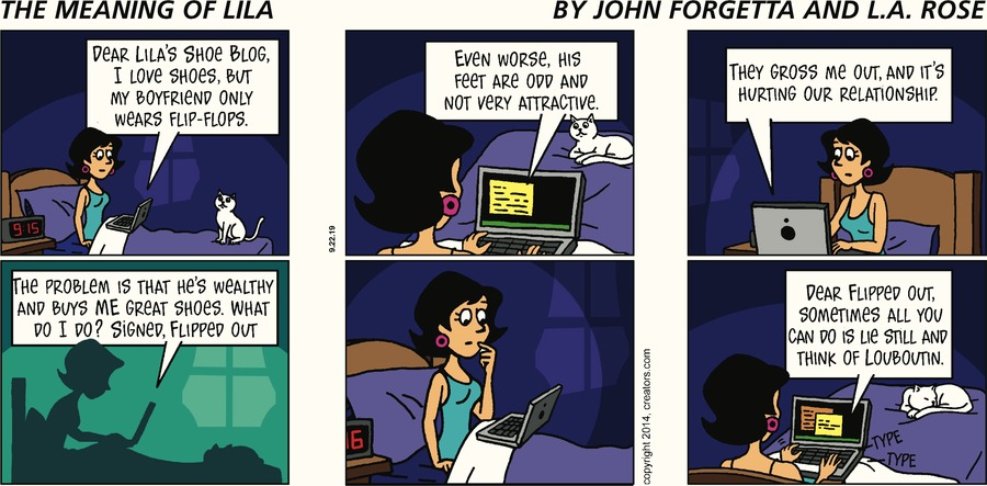 The Meaning of Lila Comic Strip for September 22, 2019