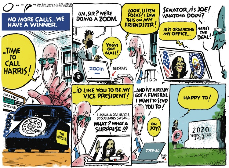 Jack Ohman Comic Strip for August 16, 2020
