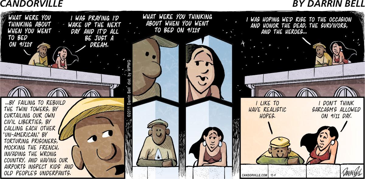 Candorville Comic Strip for September 11, 2011