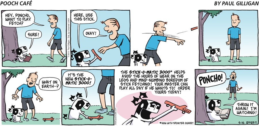 Pooch Cafe Comic Strip for June 16, 2013