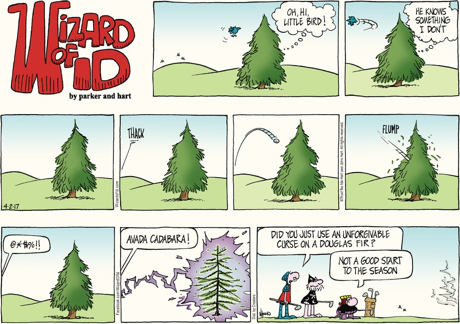 Wizard of Id Comic Strip for April 02, 2017