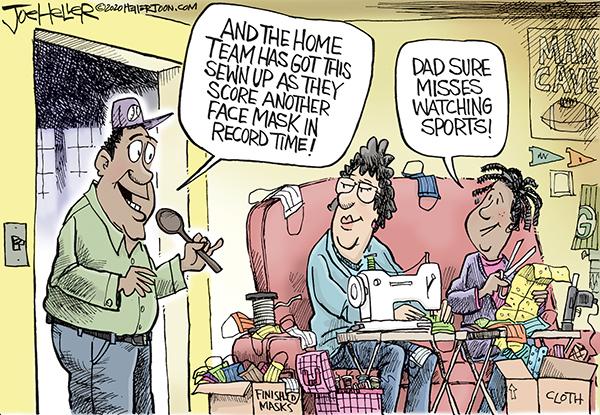 Joe Heller Comic Strip for April 06, 2020