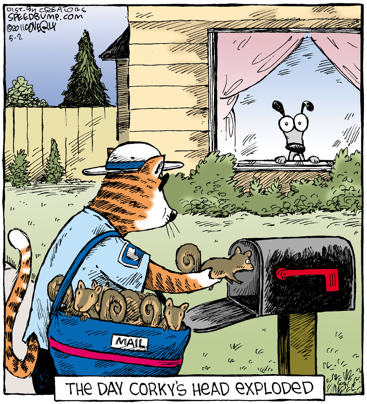 Speed Bump Comic Strip for May 02, 2011
