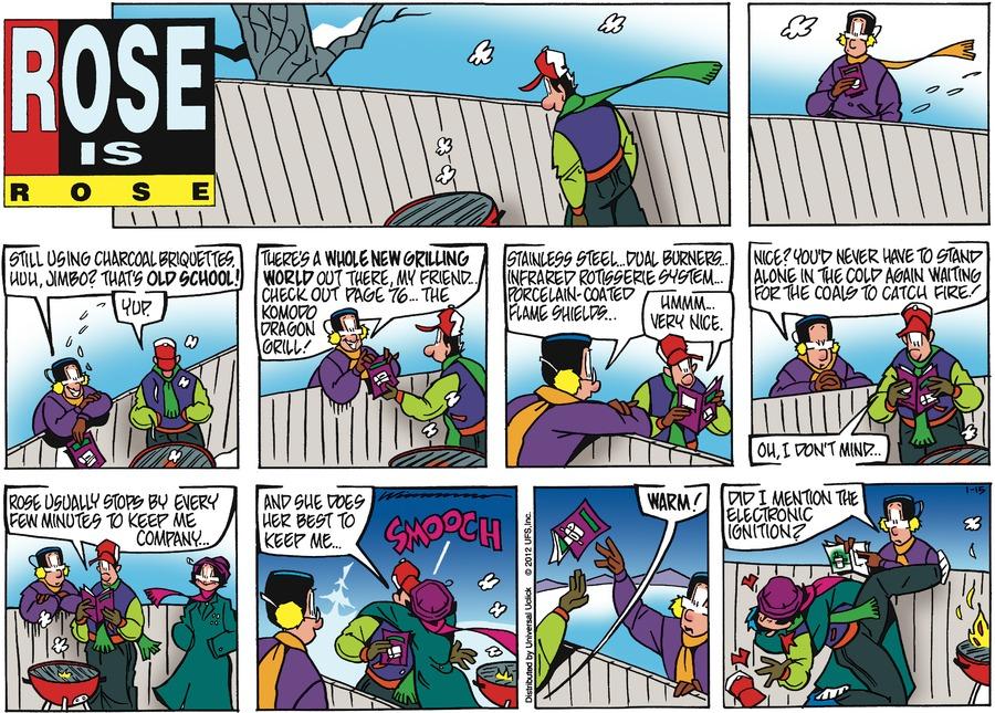 Rose is Rose for Jan 15, 2012 Comic Strip