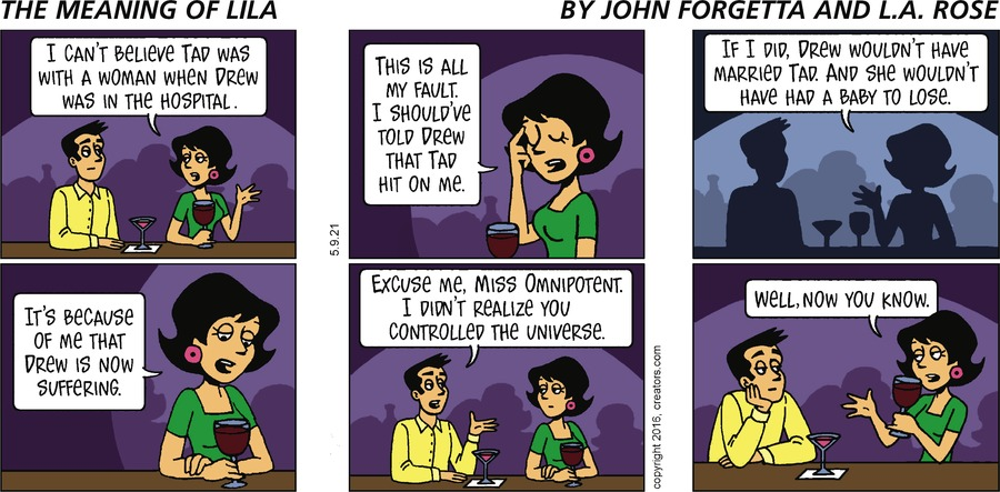 The Meaning of Lila Comic Strip for May 09, 2021