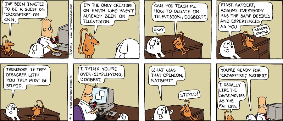 Dilbert Classics by Scott Adams for May 19, 2019