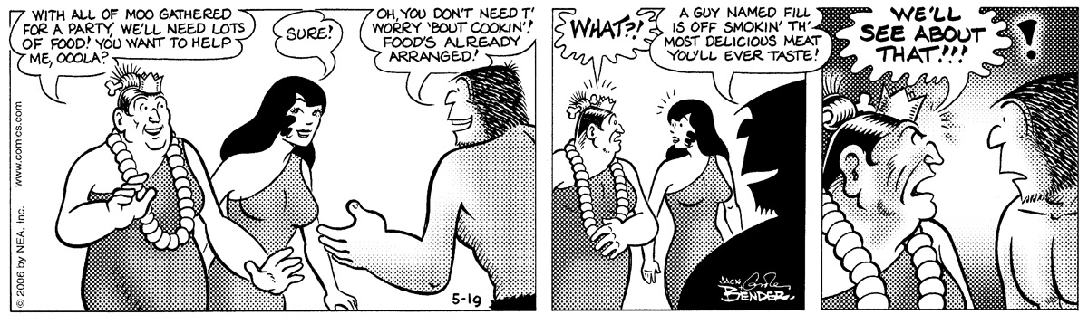 Alley Oop for May 19, 2006 Comic Strip