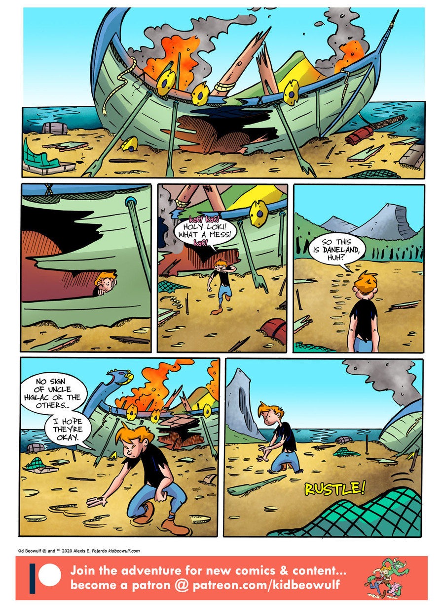 Kid Beowulf Comic Strip for January 17, 2020