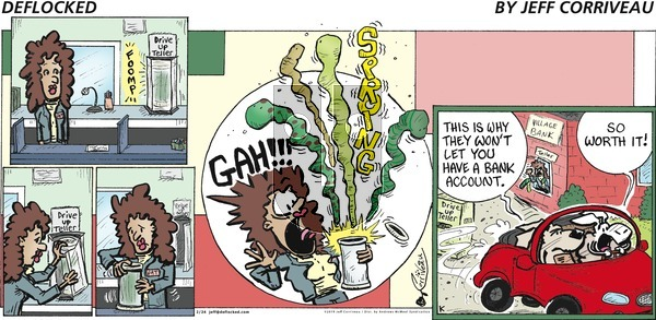 DeFlocked on Sunday February 24, 2019 Comic Strip