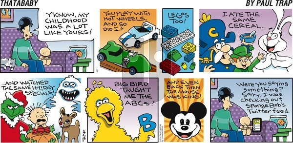 Thatababy - Sunday April 27, 2014 Comic Strip
