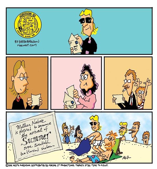 Making It for Jun 16, 2016 Comic Strip