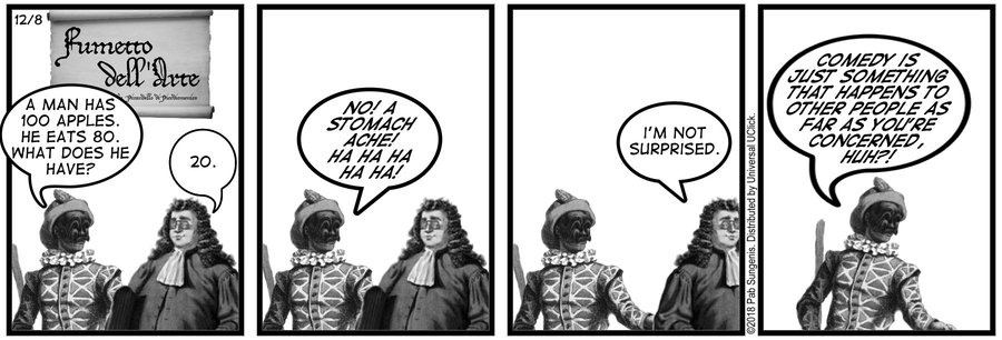 New Adventures of Queen Victoria Comic Strip for December 08, 2018