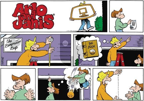 Arlo and Janis on Sunday December 19, 1999 Comic Strip