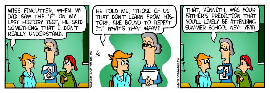 Just Say Uncle Comic Strip for November 15, 2019