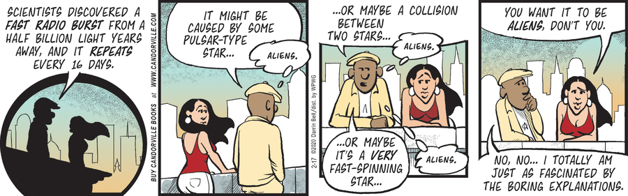 Candorville Comic Strip for February 17, 2020