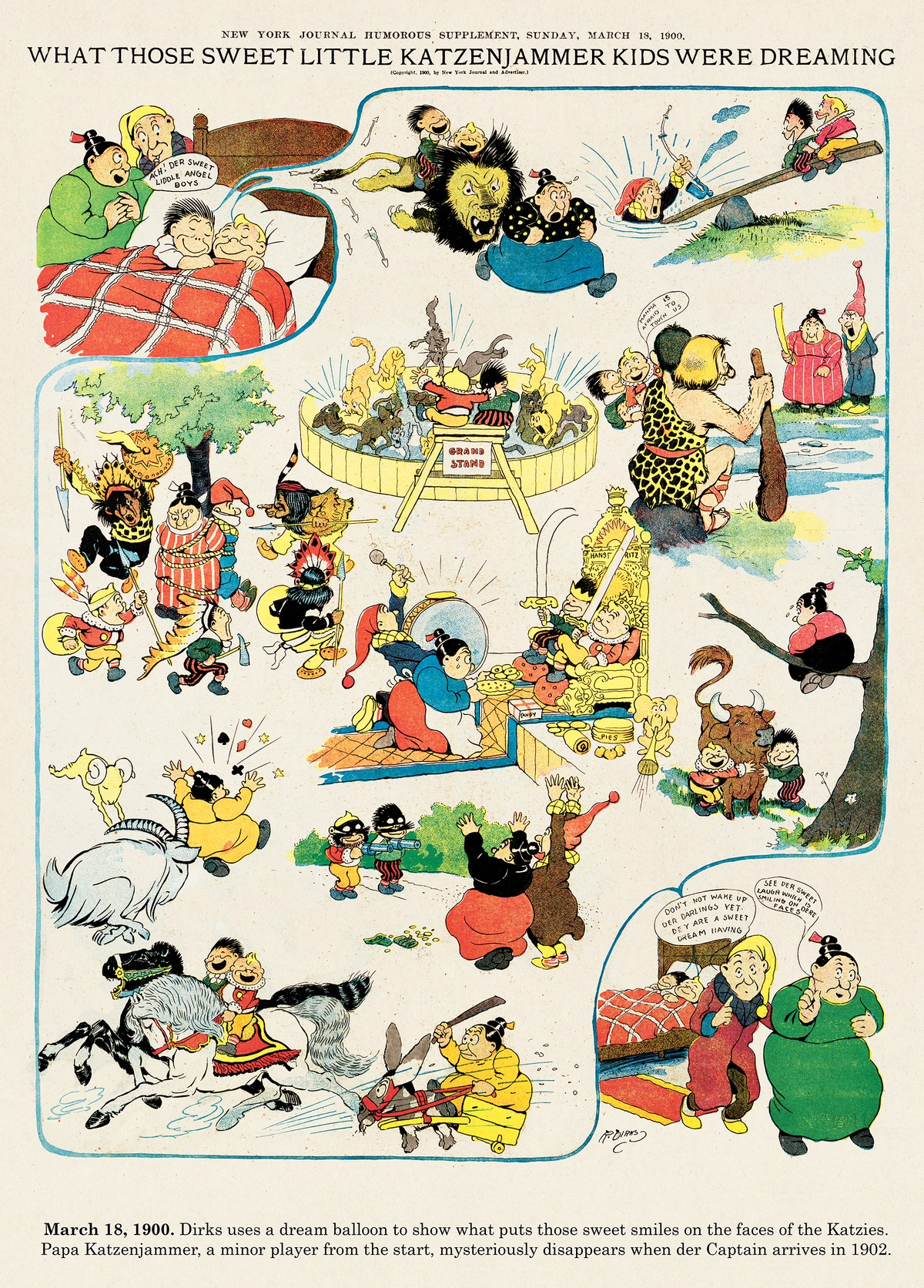 Origins of the Sunday Comics Comic Strip for September 29, 2013