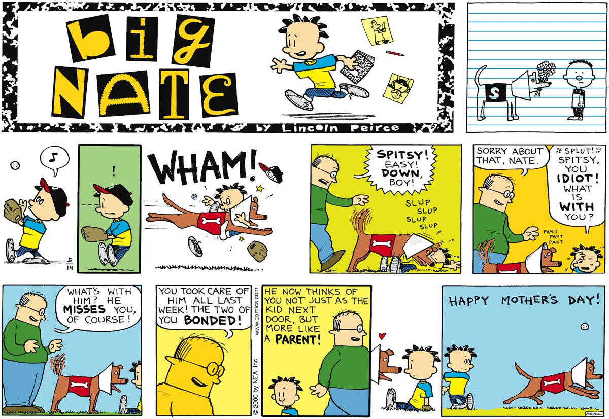 Big Nate Comic Strip for May 14, 2000