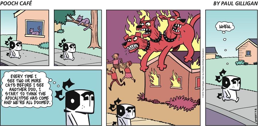 Pooch Cafe for Jul 8, 2018 Comic Strip