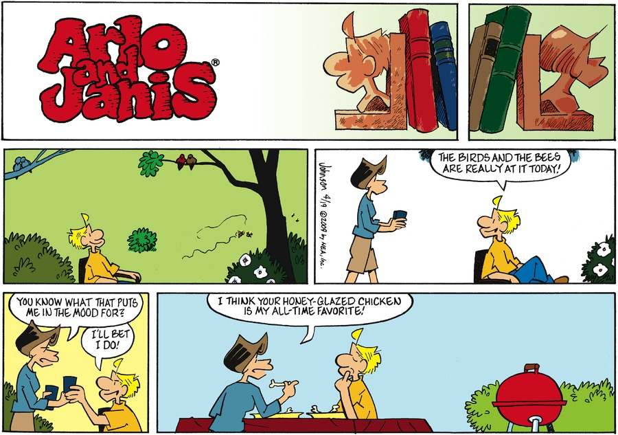 Arlo and Janis Comic Strip for April 19, 2009