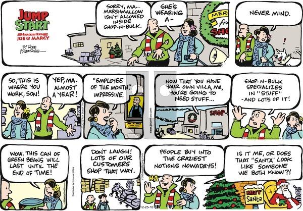 JumpStart on Sunday December 25, 2016 Comic Strip