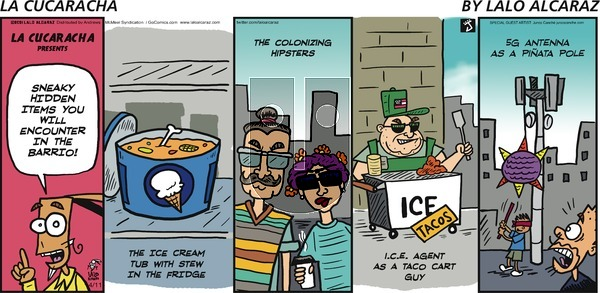 La Cucaracha on Sunday April 11, 2021 Comic Strip