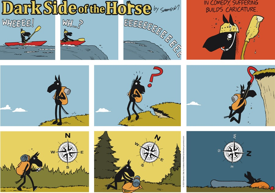 Dark Side of the Horse Comic Strip for February 28, 2021