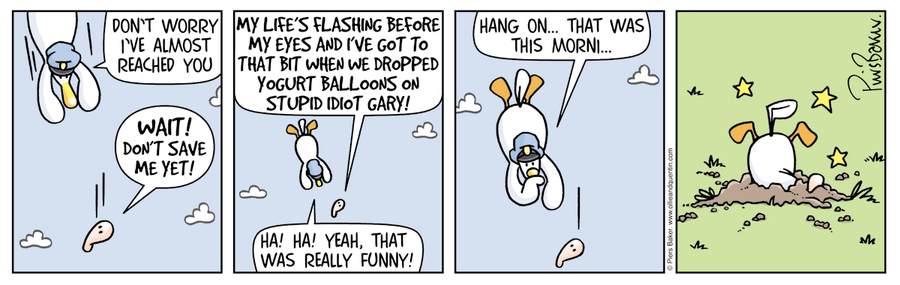 Ollie and Quentin Comic Strip for February 09, 2019