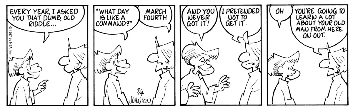 Arlo and Janis for Mar 4, 1997 Comic Strip