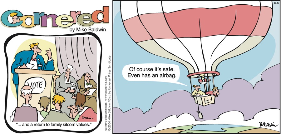 Cornered Comic Strip for June 06, 2004