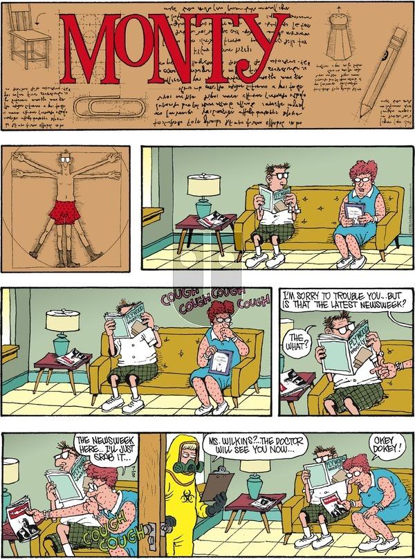 Monty on Sunday July 8, 2018 Comic Strip