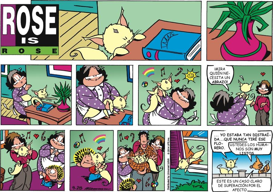 Rosa Dominical Comic Strip for September 28, 2014