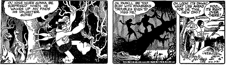 Alley Oop Comic Strip for January 21, 1949
