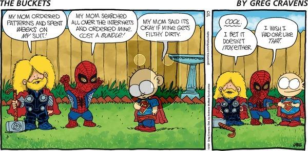The Buckets on Sunday October 24, 2021 Comic Strip