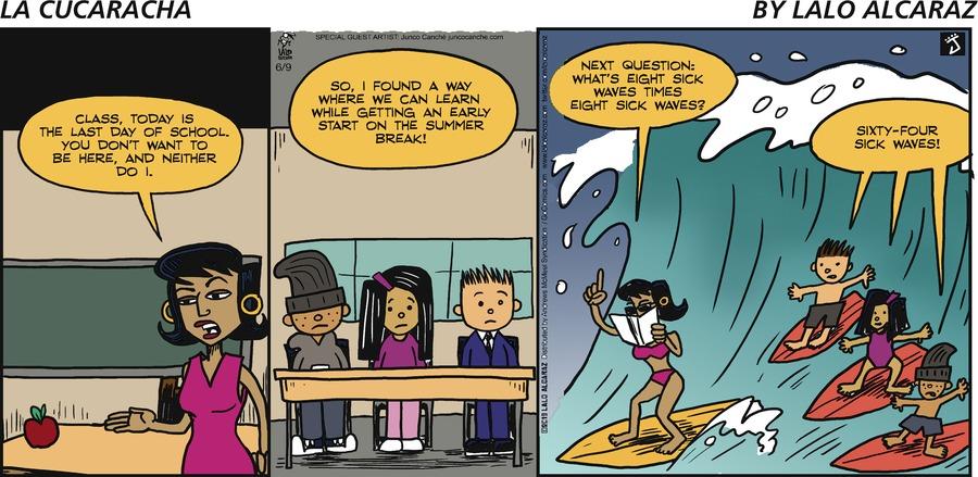 La Cucaracha Comic Strip for June 09, 2019
