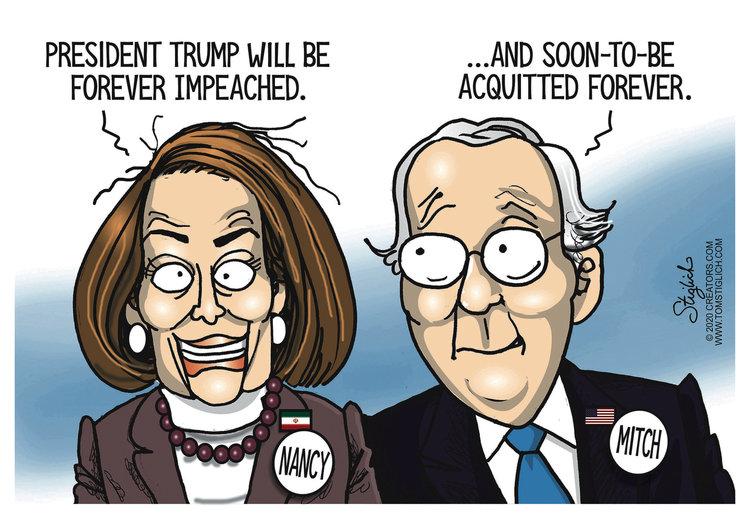 Tom Stiglich Comic Strip for January 22, 2020