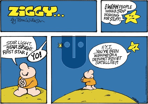 Ziggy on Sunday December 1, 2019 Comic Strip