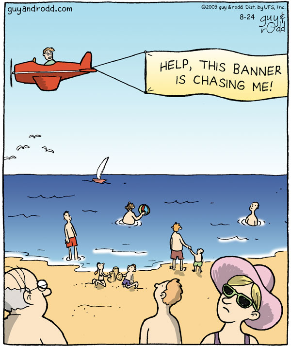 Brevity for Aug 24, 2009 Comic Strip
