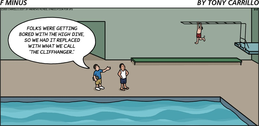 F Minus Comic Strip for June 06, 2021