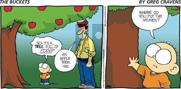The Buckets on Sunday May 23, 2021 Comic Strip