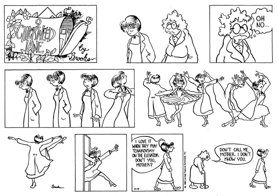 9 Chickweed Lane for Nov 14, 1993 Comic Strip
