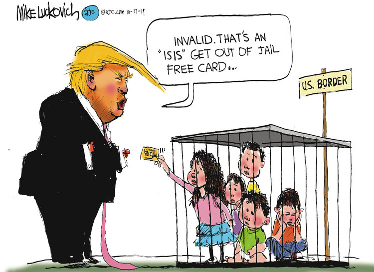 Mike Luckovich Comic Strip for October 17, 2019