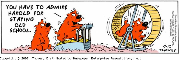 Frank and Ernest Comic Strip for April 10, 2002