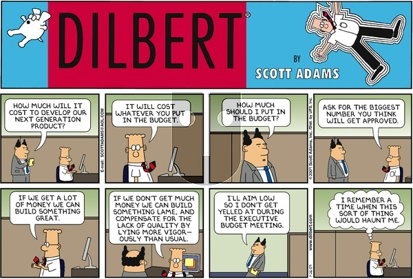 Dilbert - Sunday July 26, 2009 Comic Strip