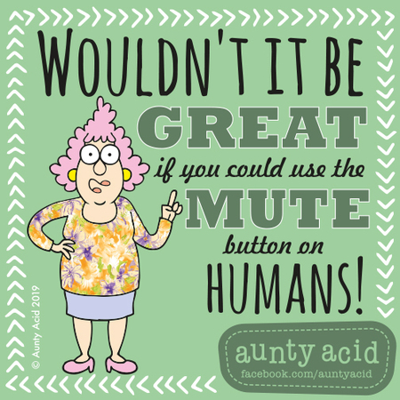 Aunty Acid by Ged Backland for June 22, 2019