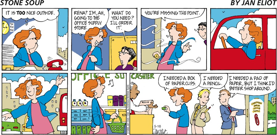 Stone Soup Comic Strip for May 16, 2021