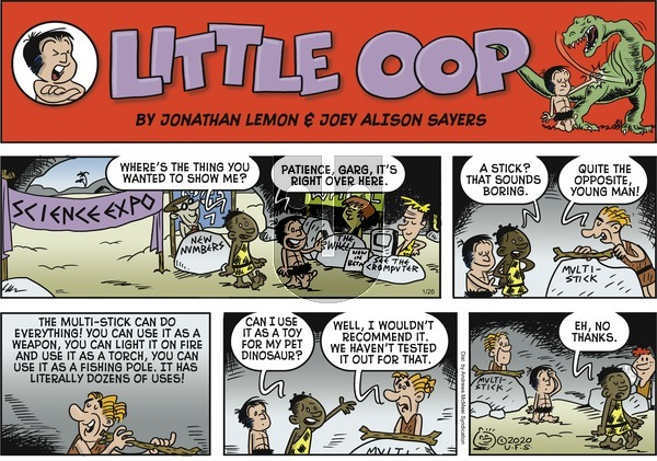 Alley Oop on Sunday January 26, 2020 Comic Strip
