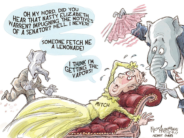 Nick Anderson Comic Strip for February 09, 2017