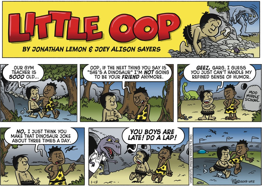 Alley Oop Comic Strip for January 13, 2019