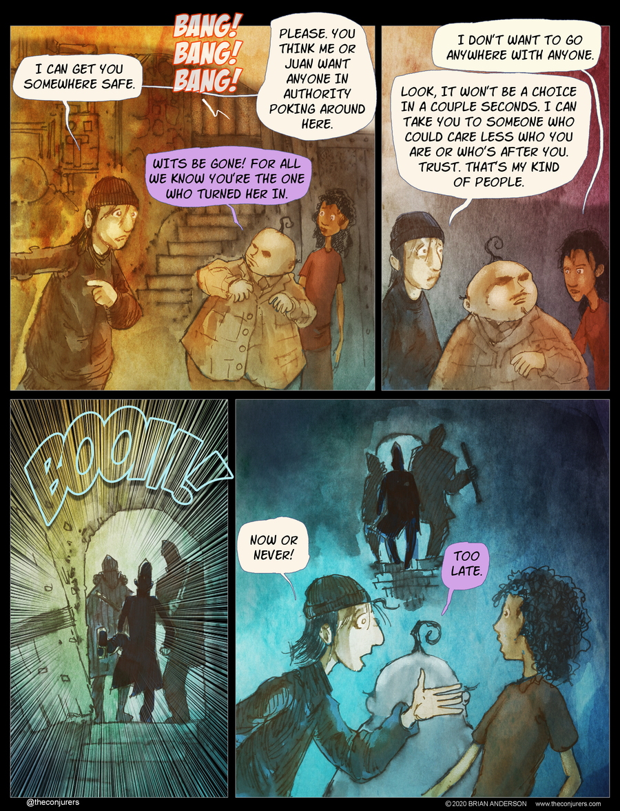 The Conjurers Comic Strip for June 29, 2020